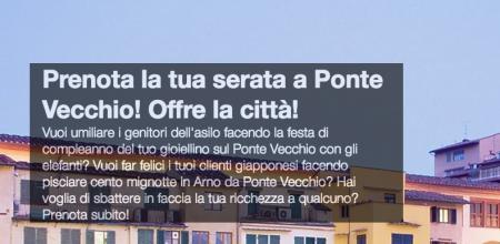 prenota anche tu Ponte Vecchio